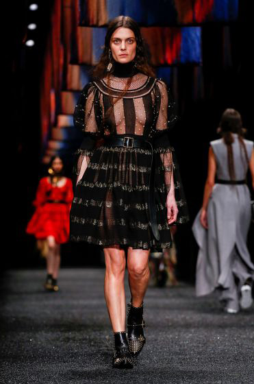 alexander-mcqueen-fw-17-fall-winter-2017-18-collection (22)-black-sheer-dress