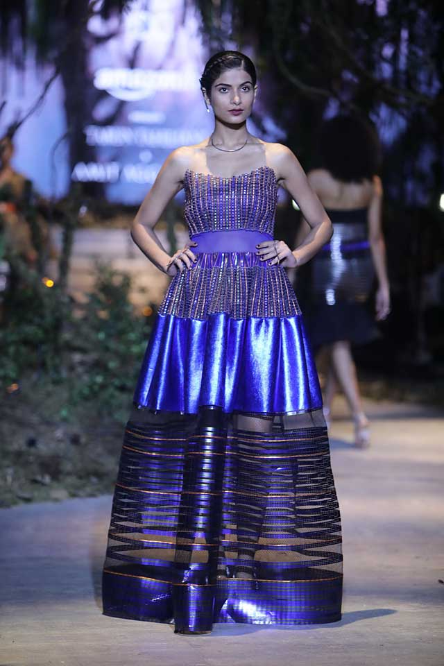 amit-aggarwal-amazon-india-fashion-week-2017-dress-indian (8)-patchwork-blue-gown