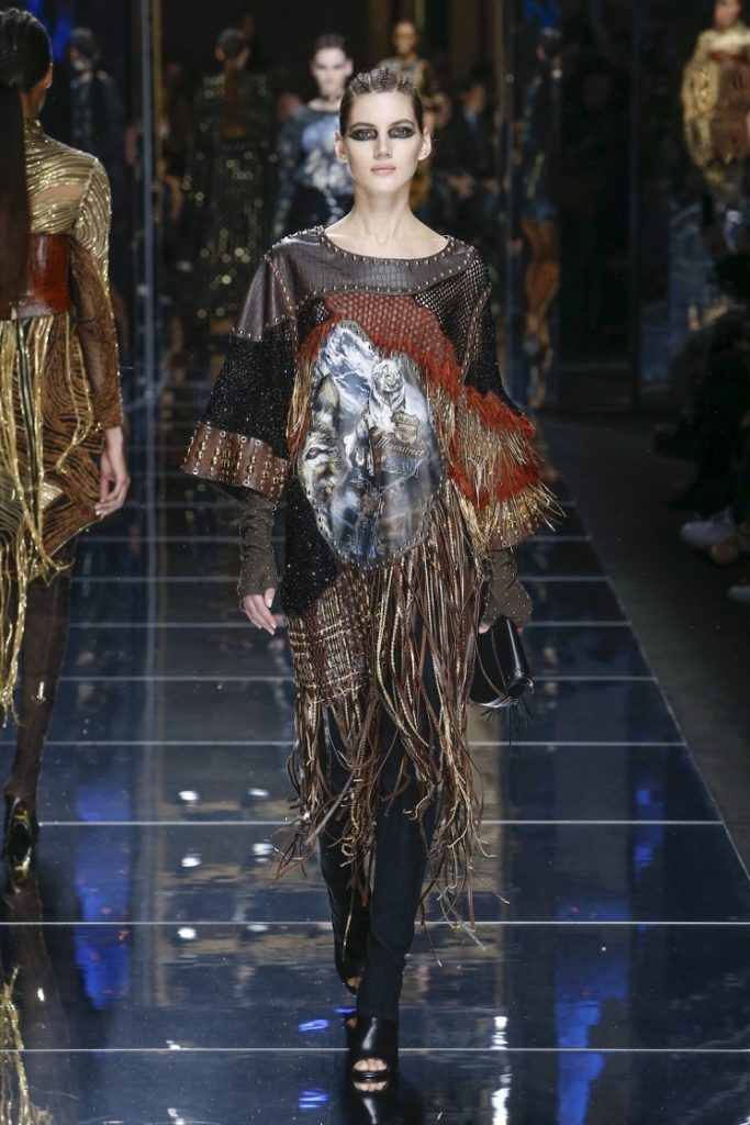 balmain-fw17-rtw-fall-winter-2017-18-collection (11)-fringes-top-sleeves