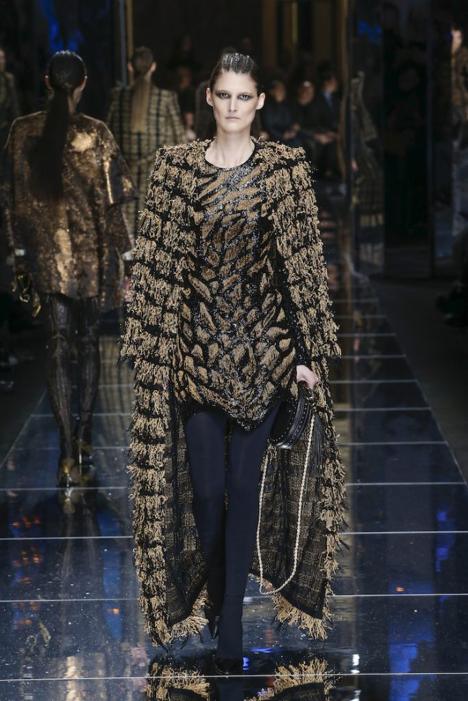 balmain-fw17-rtw-fall-winter-2017-18-collection (56)-fringes-coat