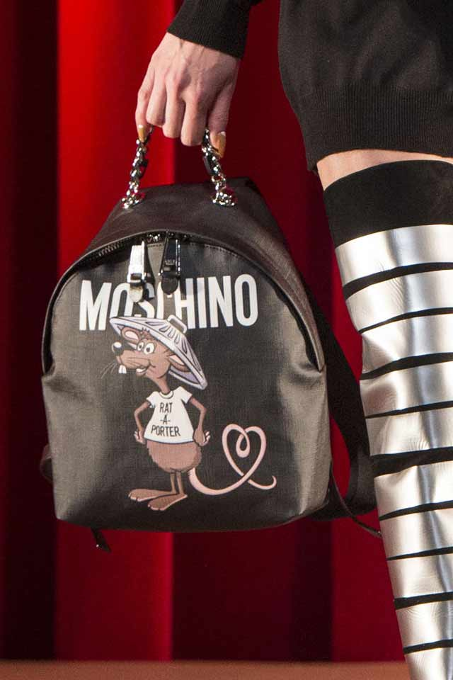 black-backpack-moschino-latest-handbag-trends-2017-women-bags
