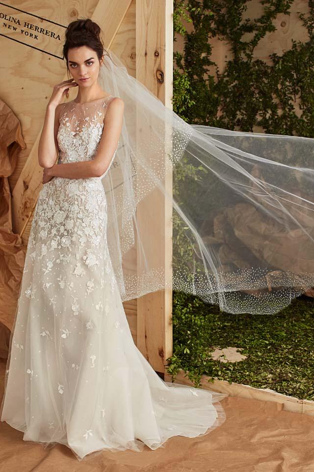carolina-herrera-bridal-spring-summer-2017-collection (8)-sheer-veil-white