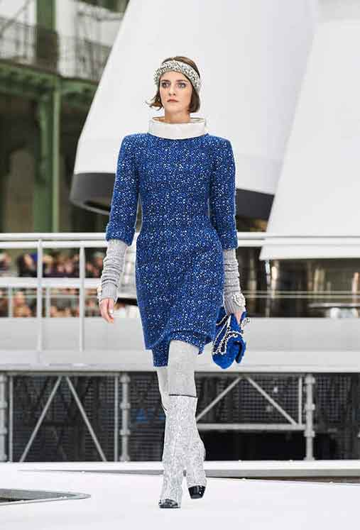 chanel-fw17-rtw-fall-winter-2017-18-collection (28)-blue-dress