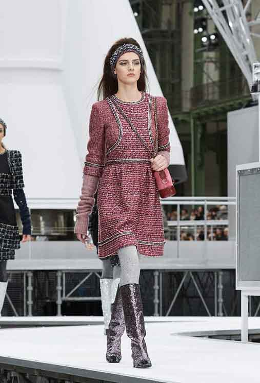 chanel-fw17-rtw-fall-winter-2017-18-collection (49)-sweater-dress