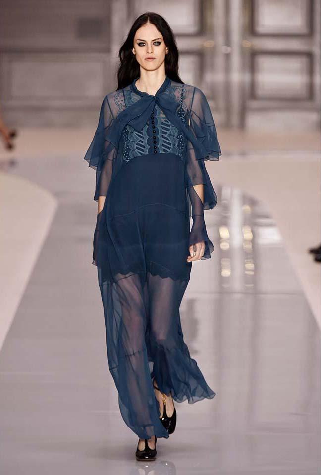 chloe-fw17-rtw-fall-winter-2017-18-collection (35)-blue-sheer-dress
