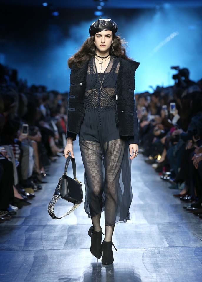dior-fw17-rtw-fall-winter-2017-18-collection (22)-sheer-jumpsuit