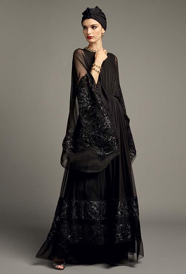 dolce-gabbana-abaya-fashion-hijab-muslim-women-style (10)-black-turban