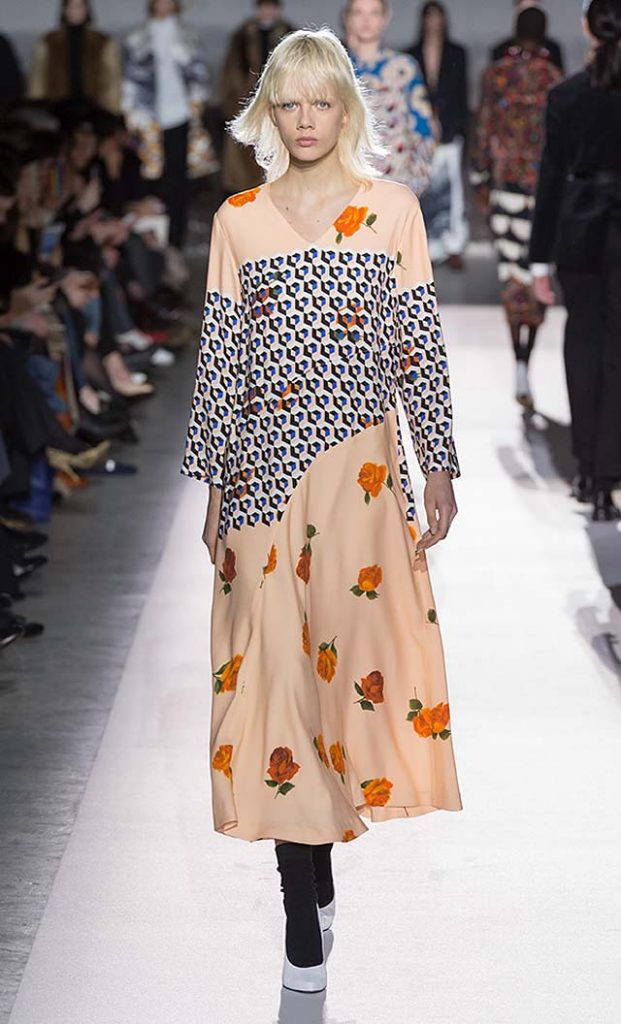 dries-van-noten-fw17-fall-winter-2017-collection-01 (43)-floral-printed-dress