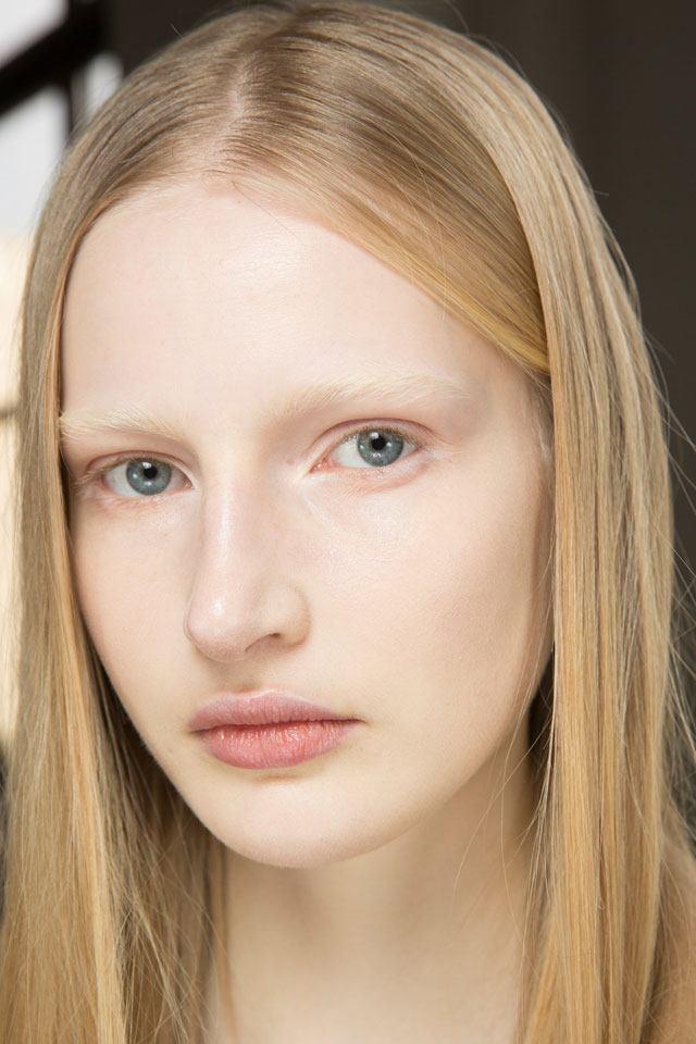 fashion-week-ready-to-wear-fall-winter-2017-designer-proenza-schouler-nude-makeup