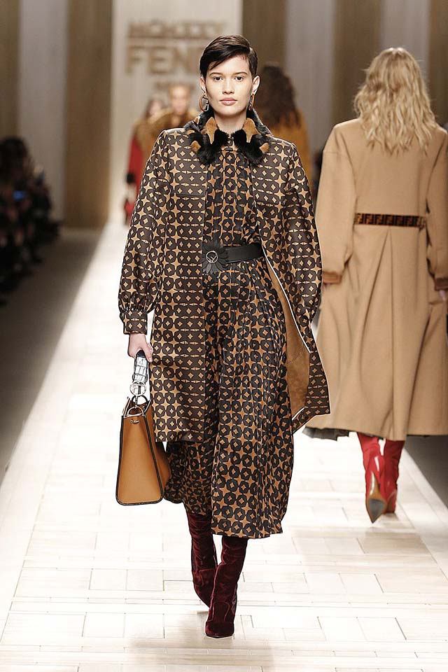 fendi-fw17-rtw-fall-winter-2017-18-collection (22)-patterned-dress-coat