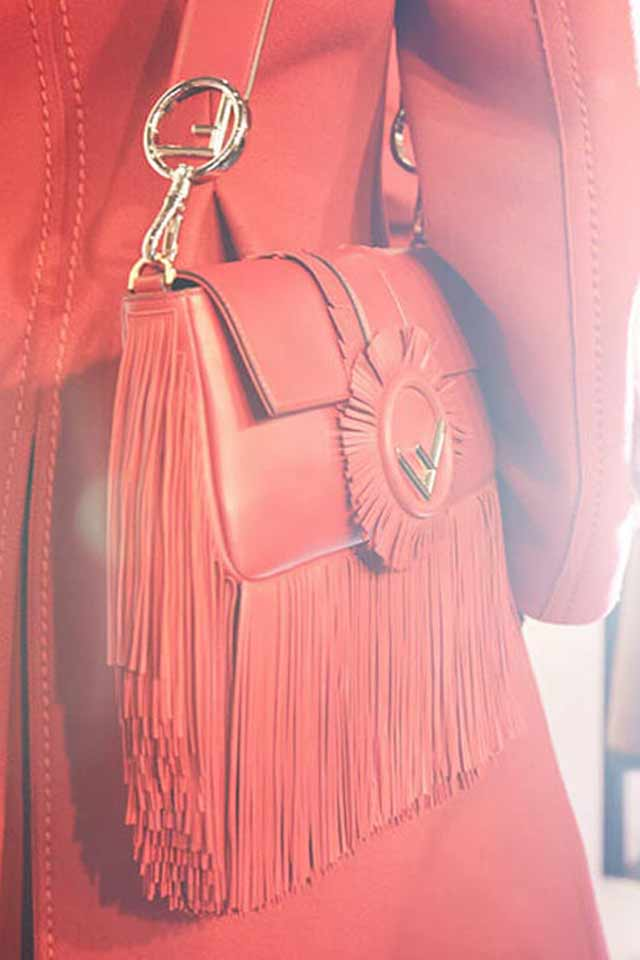 fendi-red-bag-logo-strap-fringed-latest-handbag-trends-for-2017