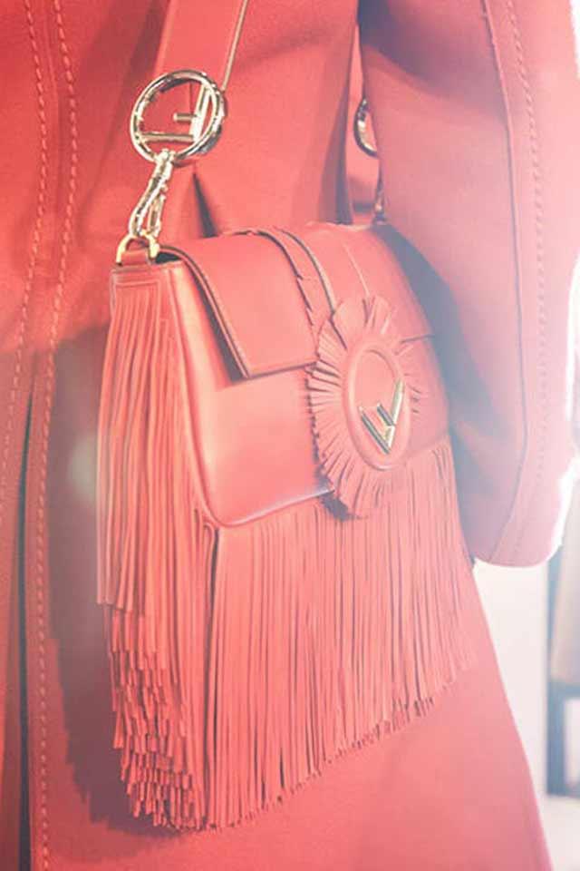 fendi-red-bag-logo-strap-fringed-latest-handbag-trends-for-2017