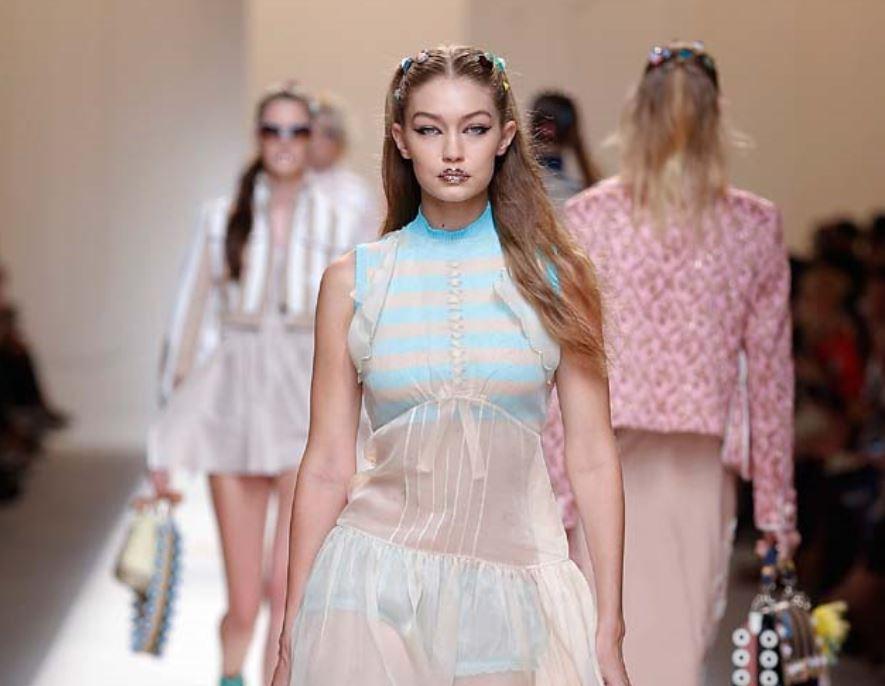 Fendi Spring Summer 2017 Trend Analysis-fendi-spring-summer-2017-rtw-ss17-makeup-collection-gigi-hadid