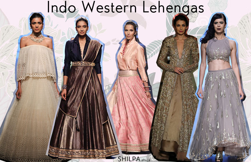 Latest Indo Western Lehenga Designs style-fashion-fall-winter-2017-18