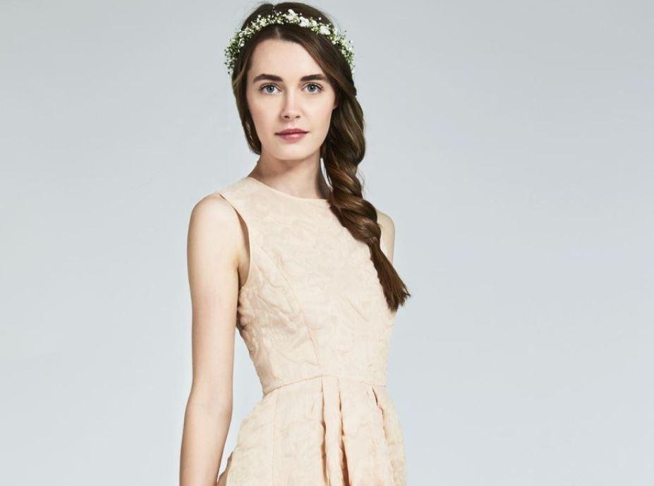 Max Mara Bridal-max-mara-bridal-2017-fall-winter-collection-braid-nude-pretty-dress