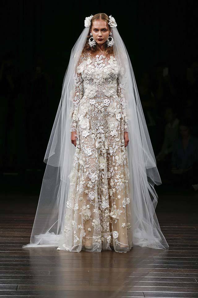 naeem-khan-bridal-fall-winter-2017-collection (21)-applique-sheer-gown