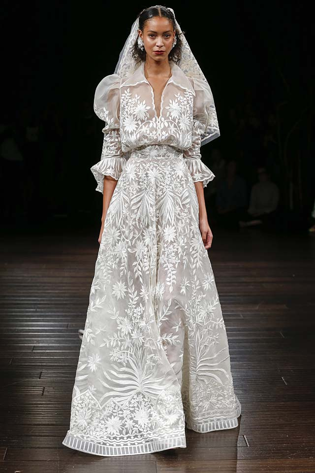 naeem-khan-bridal-fall-winter-2017-collection (22)-sheer-embroidered-gown-neckline-sleeves