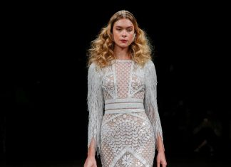 naeem-khan-bridal-fall-winter-2017-collection-hairstyle-earrings-sleeves-boots