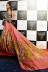 off-shoulder-latest-indo-western-lehenga-designs-by-manish-malhotra-floral-embroidery-summer-2017