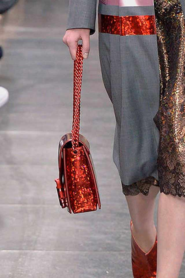red-glittery-bag-latest-handbags-2017-runway-trnds-christopher-kane