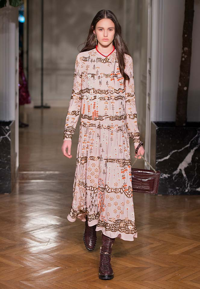 valentino-fw17-rtw-fall-winter-2017-18-collection (49)-printed-dress