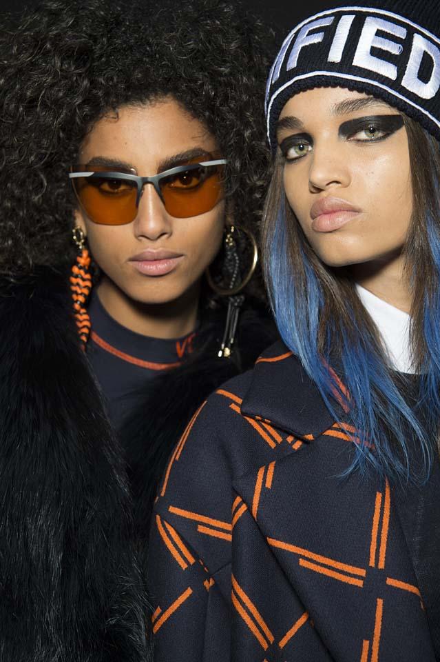 versace-fw17-rtw-fall-winter-2017-backstage-beauty-makeup-looks (3)-sunglasses