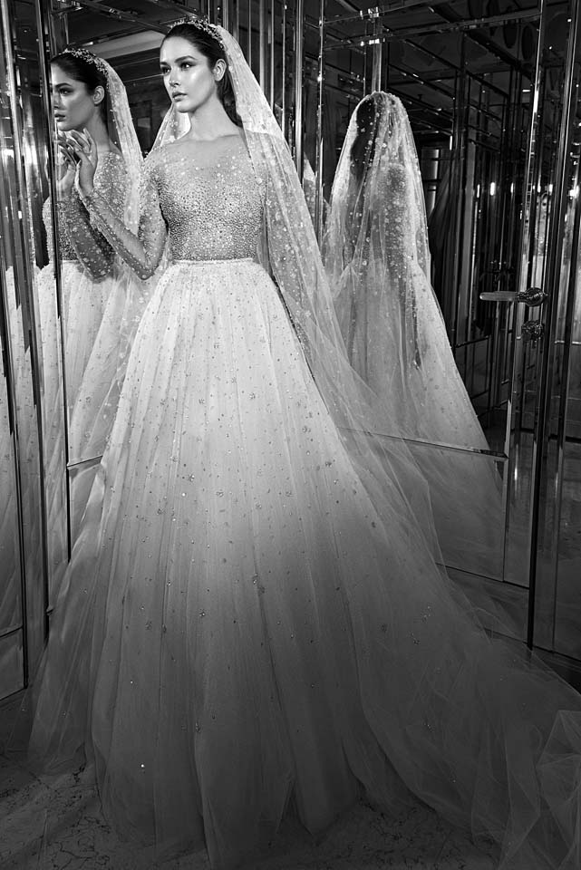 zuhair-murad-bridal-fall-winter-2017-collection (11)-poofy-gown-details