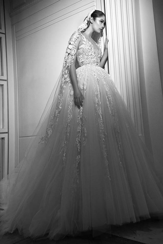 zuhair-murad-bridal-fall-winter-2017-collection (16)-poofy-net-gown
