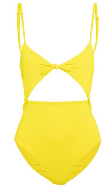 designer-mara-hoffman-cut-out-yellow-color-swimsuit-trend-for-2017-spring-summer