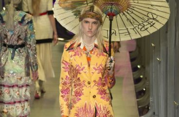 gucci-fall-winter-collection-fall winter 2017-fw17-nose-ring-floral-print-yellow