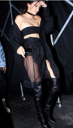 kendall-jenner-sheer-skirt-celeb-fashion-style-trend