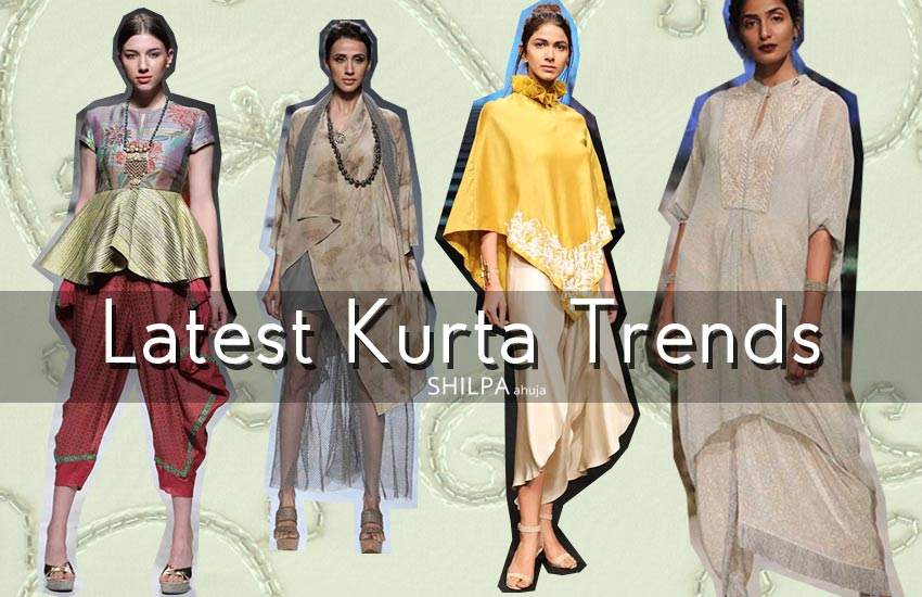 Latest Kurta Trends -indian-designer-kurtis-stylish-fashion-spring-summer-2017