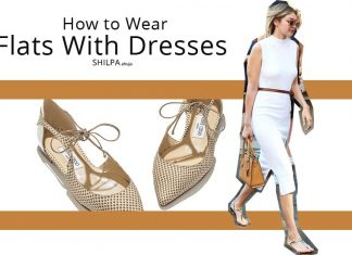 how-to-wear-dresses-with-flats-fashion-style-casual-sandals-boots-womens-wear-fall-winter-2017-18