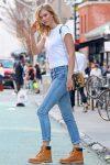 latest-style-of-jeans-karlie-kloss-celebrity-style-white-tee-denim-2017-18