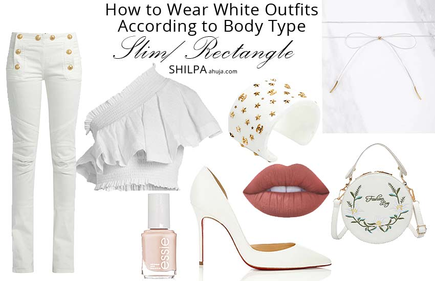 what-to-wear-with-white-tops-casual-summer-outfit-ideas-dresses-slim