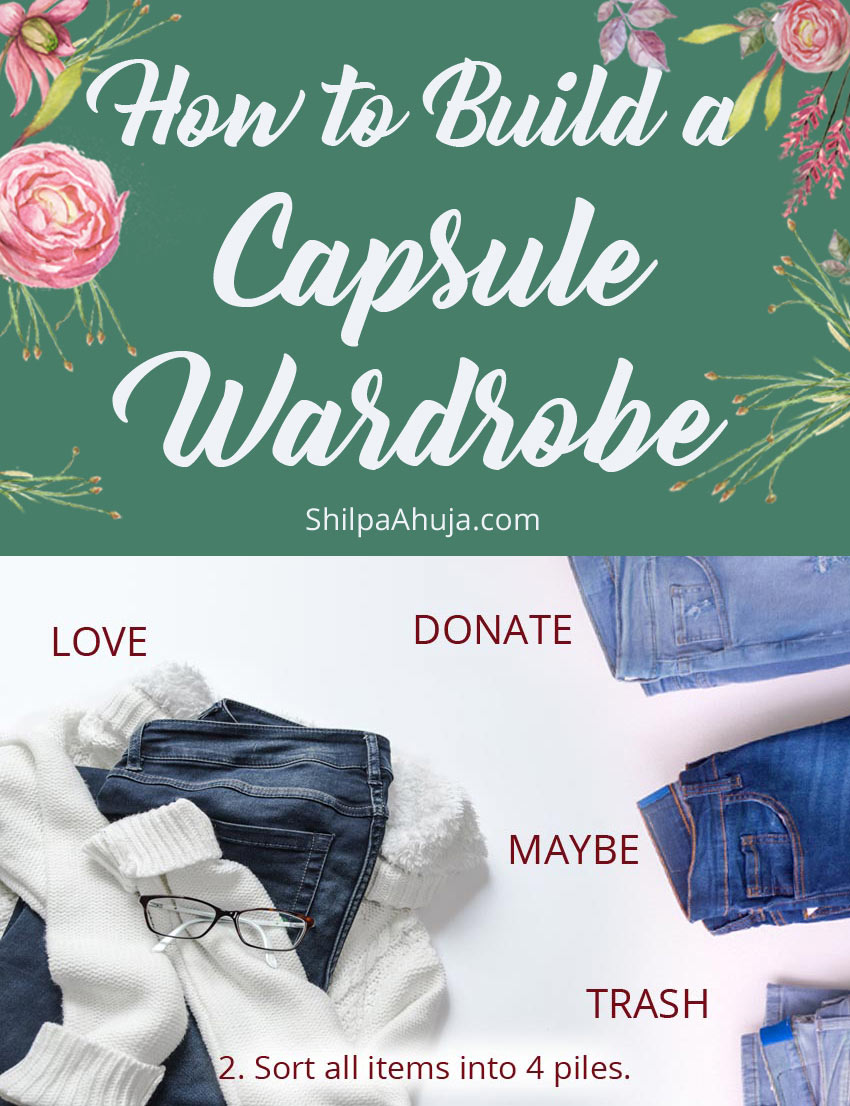10e how to build a capsule wardrobe steps