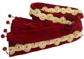 best-red-color-dupatta-accessory-used-traditional-ethnic-wear-for-reception