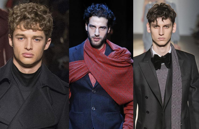 best-trendy-mens-hairstyle-Tousled-wavy-fashion-style-curls-fw17-18