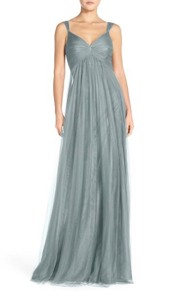 best-types-of-gowns-styles-designer-gowns-grey-empire-waist-monique-lhuillier-