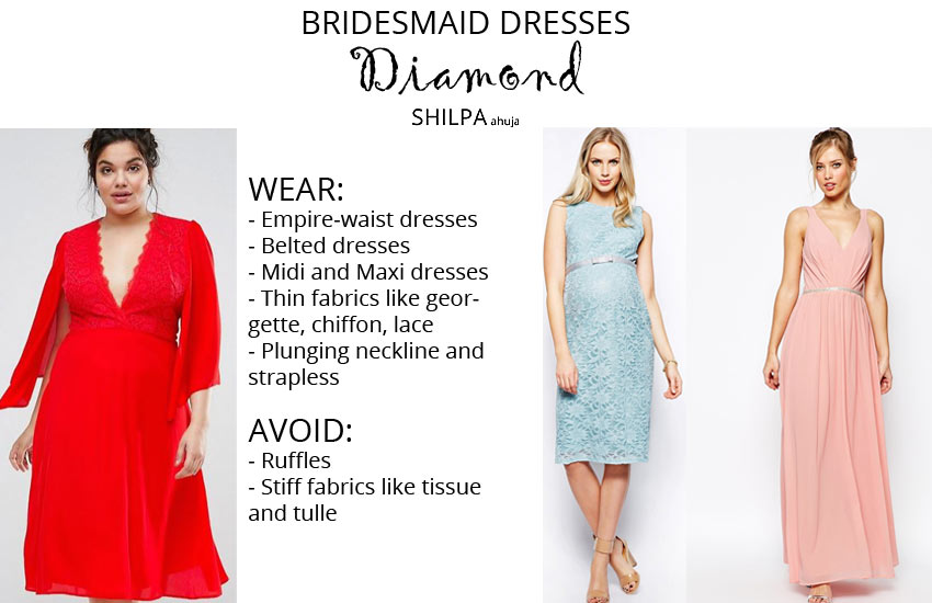 how-to-wear-bridesmaid-dresses-outfit-body-type-diamond