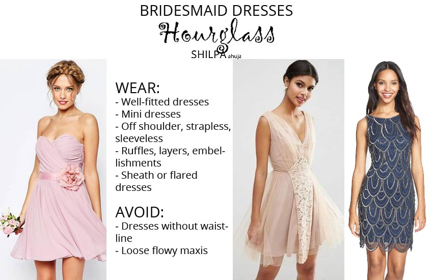 how-to-wear-bridesmaid-dresses-outfit-body-type-hourglass