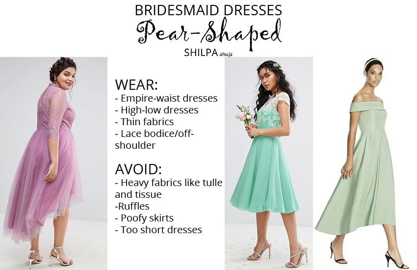 how-to-wear-bridesmaid-dresses-outfit-body-type-pear
