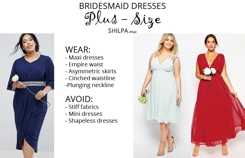 how-to-wear-bridesmaid-dresses-outfit-body-type-plus-size