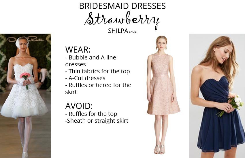 how-to-wear-bridesmaid-dresses-outfit-body-type-strawberry