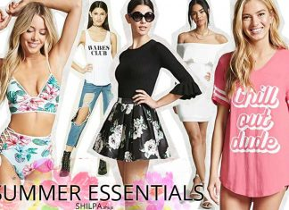 summer-essentials-tee-shirt-swim-suit-must-haves-dress
