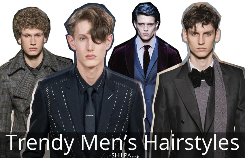 Trendy Men's hairstyles popular-haircut-style-fashion-runway-trends-fall-winter-2017-18
