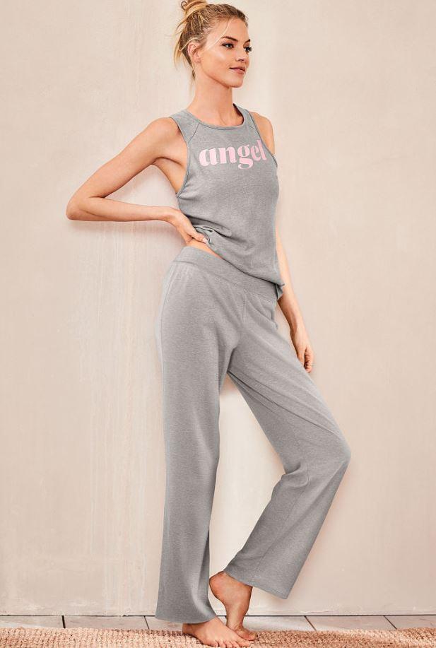 victorias-secret-night-wear-pajama-set-cotton-summer-womens-sleepwear-essentials