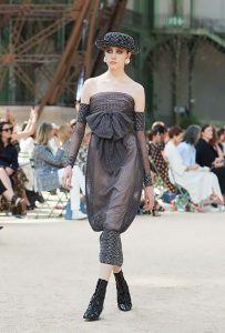 chanel Haute Couture 2017 Chanel-fall-winter-2017-haute-couture-dress-45-off-shoulder-sheer-dress