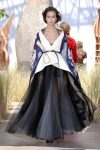 DIOR_Haute Couture-AW2017-fall-winter-2017-dresses (35)-ruffled-sheer-skirt-white-scarf