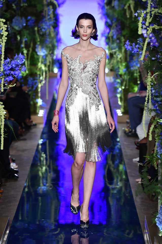 Guo Pei FW17-18 Couture-fall-winter-2017 (2)-off-shoulder -metallic-dress